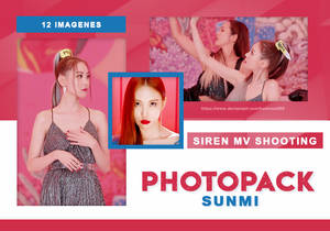 PHOTOPACK SUNMI - SIREN MV SHOOTING // HANNAK