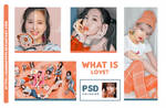 PSD COLORING WHAT IS LOVE // HANNAK