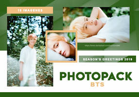 PHOTOPACK BTS - SEASON'S GREETINGS 2019 // HANNAK by hannavs999