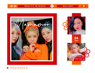 PHOTOPACK MAMAMOO - REALITY IN BLACK // HANNAK