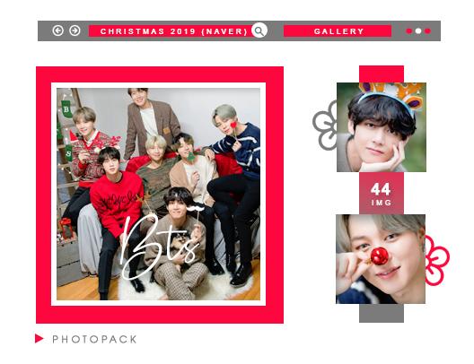 Photopack Bts Christmas 2019 Naver X Dispatch By Hannavs999 On Deviantart