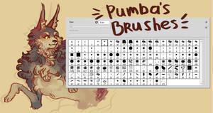 Pumb Brushes by arurelius