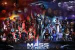Mass Effect Poster (36x24) (Female Shepard)