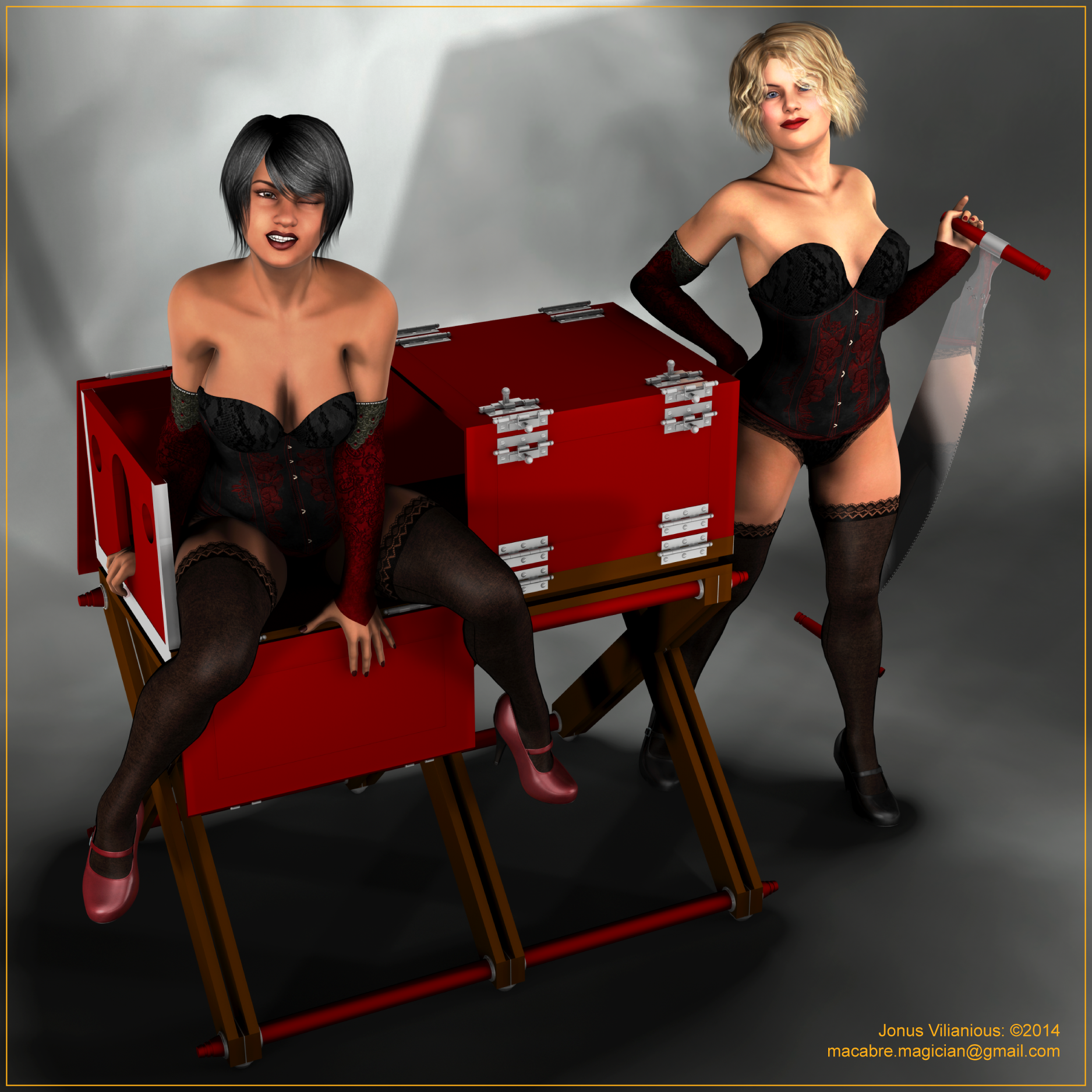 3d guillotine women xxx image