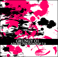 CAD Grungy Photoshop 7.0 Brush by in-vogue