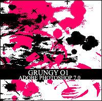 CAD Grungy Photoshop 7.0 Brush