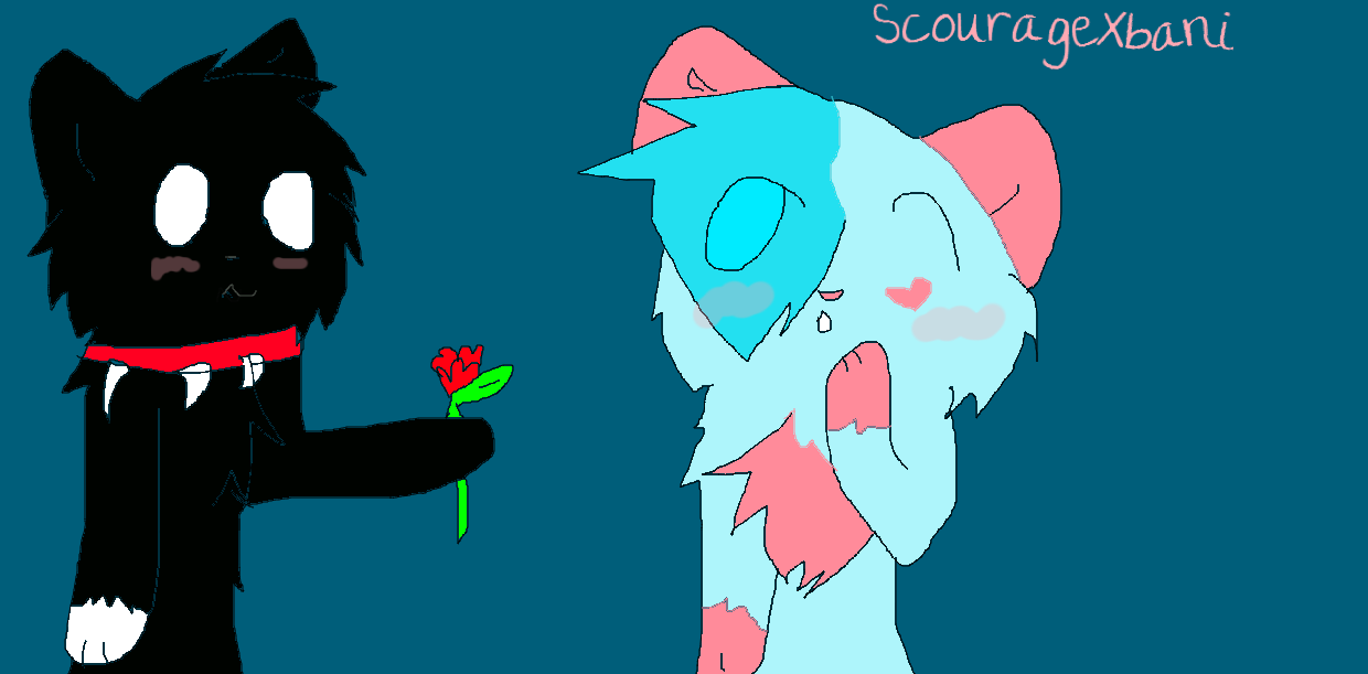 Scourage and bani by NeonCandyLights