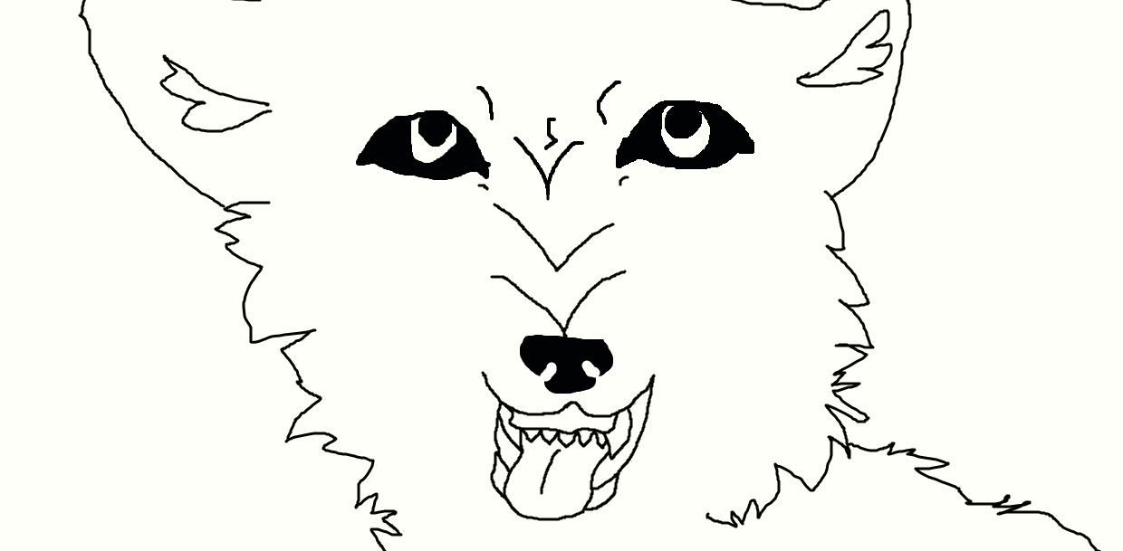 SNARL lineart by NeonCandyLights