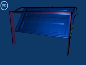 Blender Garage Door -type2- PD by over2sd