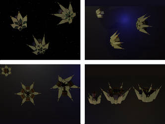 Ships of the Larent, group 1 by over2sd