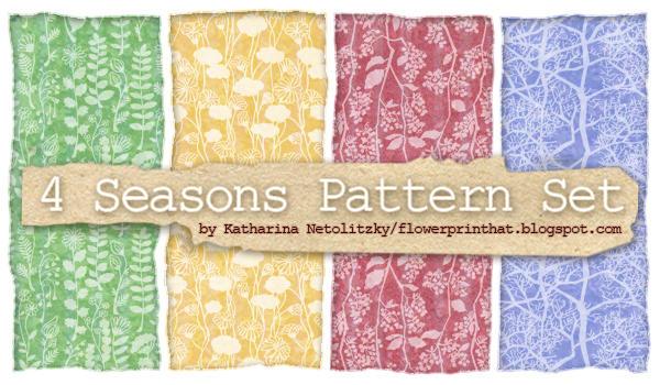 4 Seasons Pattern Set by Kaos-Felida