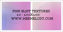 Pink Blist Textures by nitoy