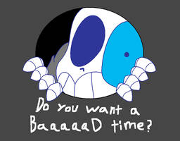 Do You Want A Baaaad Tim by pinkie-the-sans20