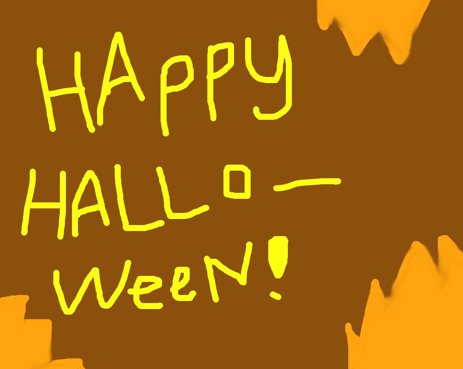 happy halloween by Allyson-SacrificeLUV