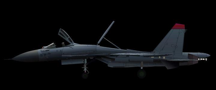 Su-33 Animation Test