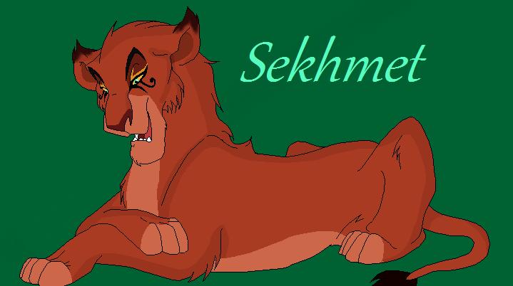 Sekhmet by nazow