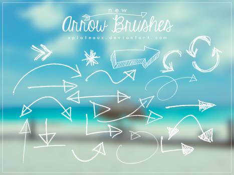 New Arrow Brushes || xPlateaux