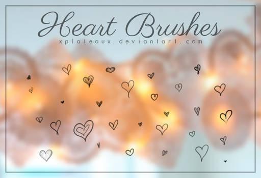 Heart Brushes || xPlateaux