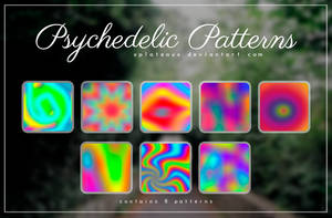 Phsychedelic Patterns || xPlateaux by xPlateaux