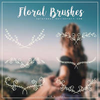 Floral Brushes by xPlateaux