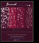 CSS journal header