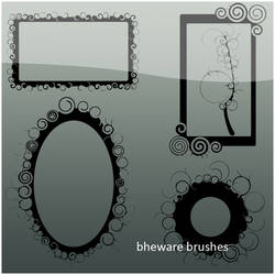 Twirl frames by bheware