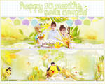 [FREE PSD] Happy 10months with Pole Couple