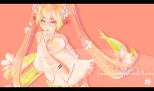 .: TDA Sakura Miku - MODEL DOWNLOAD :.