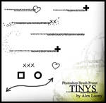 Photoshop Brush Preset: Tinys