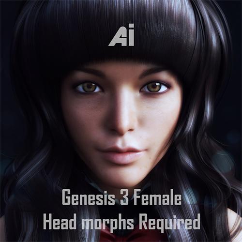 Ai Genesis 3 Female Freebie Morph by Kadaj777