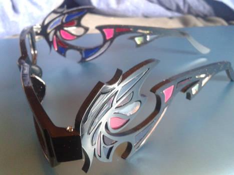 Bayonetta glasses vector 1