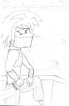 Bakura as a Gerudo (Yugioh:Zelda Crossover) by RobinTheBard