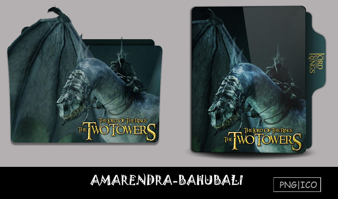 Lotr 2 The Two Towers 2002 Folder Icon By G0d 0f Thund3r On Deviantart
