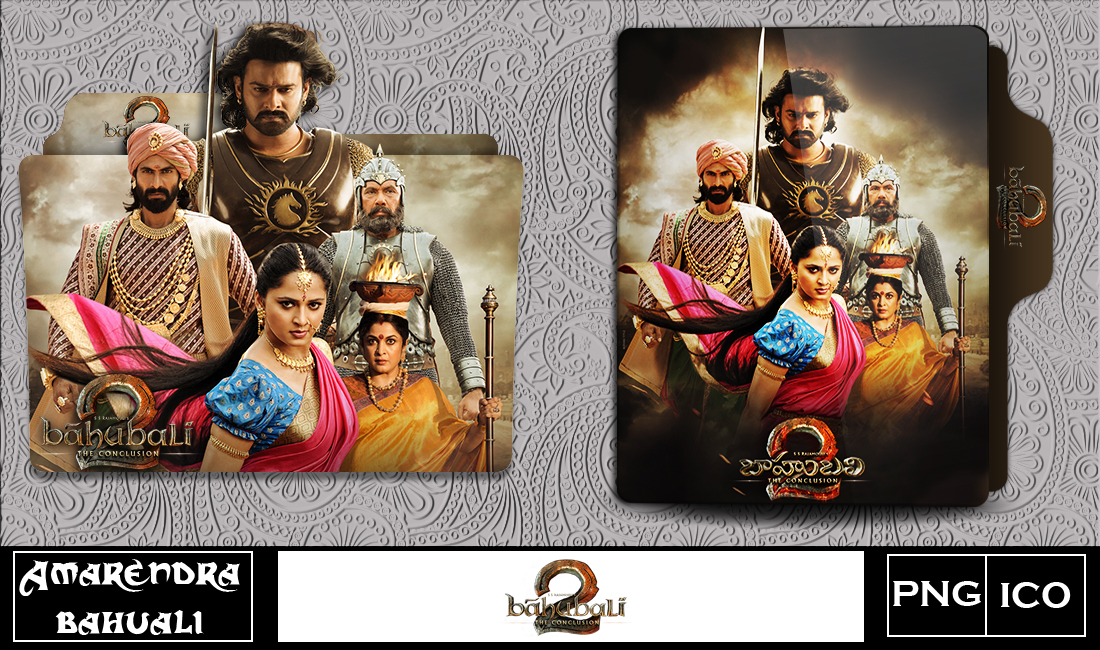 Baahubali The Conclusion 2017 Folder Icon 2 By G0d 0f Thund3r On Deviantart