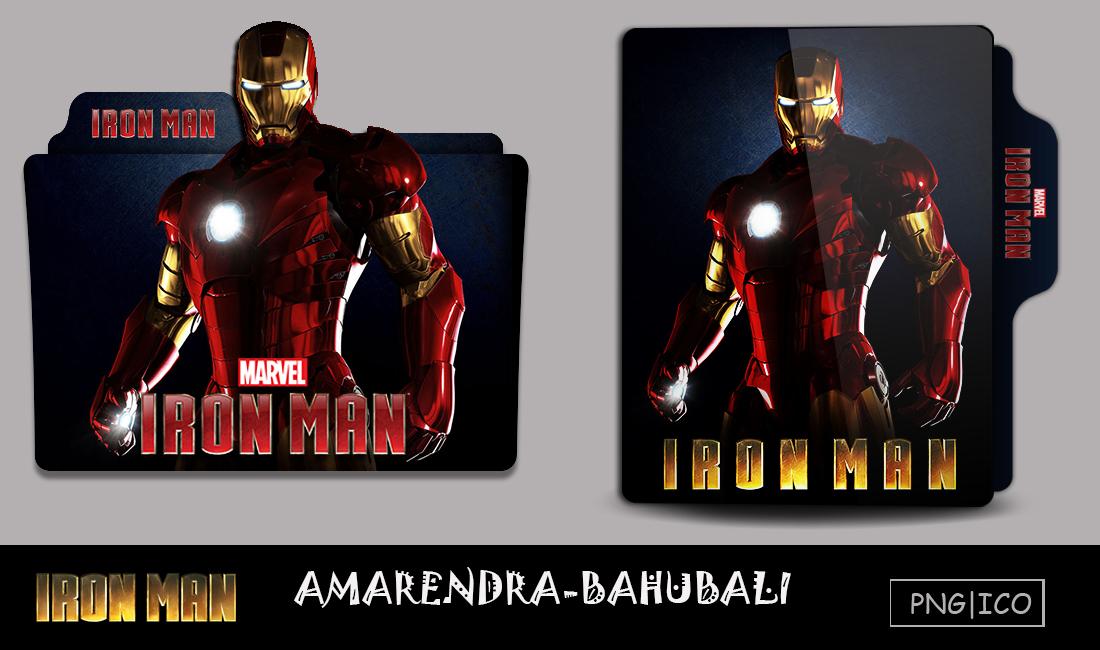 Iron Man 2008 Folder Icon By G0d 0f Thund3r On Deviantart