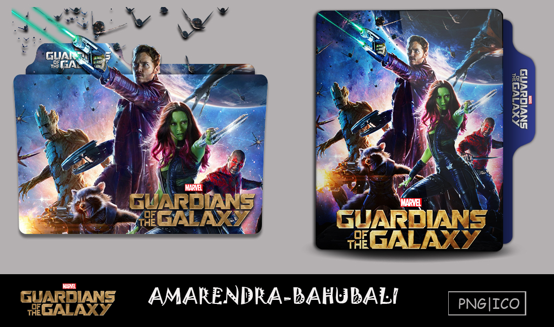 Guardians Of The Galaxy 2014 Folder Icon By G0d 0f Thund3r On Deviantart