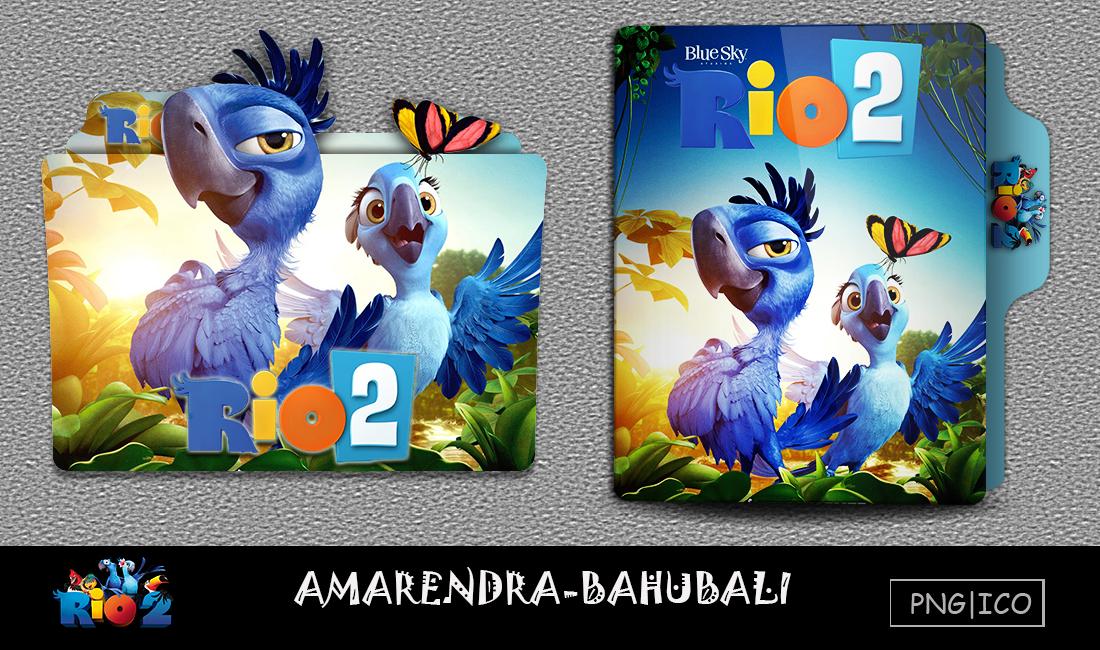 Rio 2 2014 Folder Icon By G0d 0f Thund3r On Deviantart