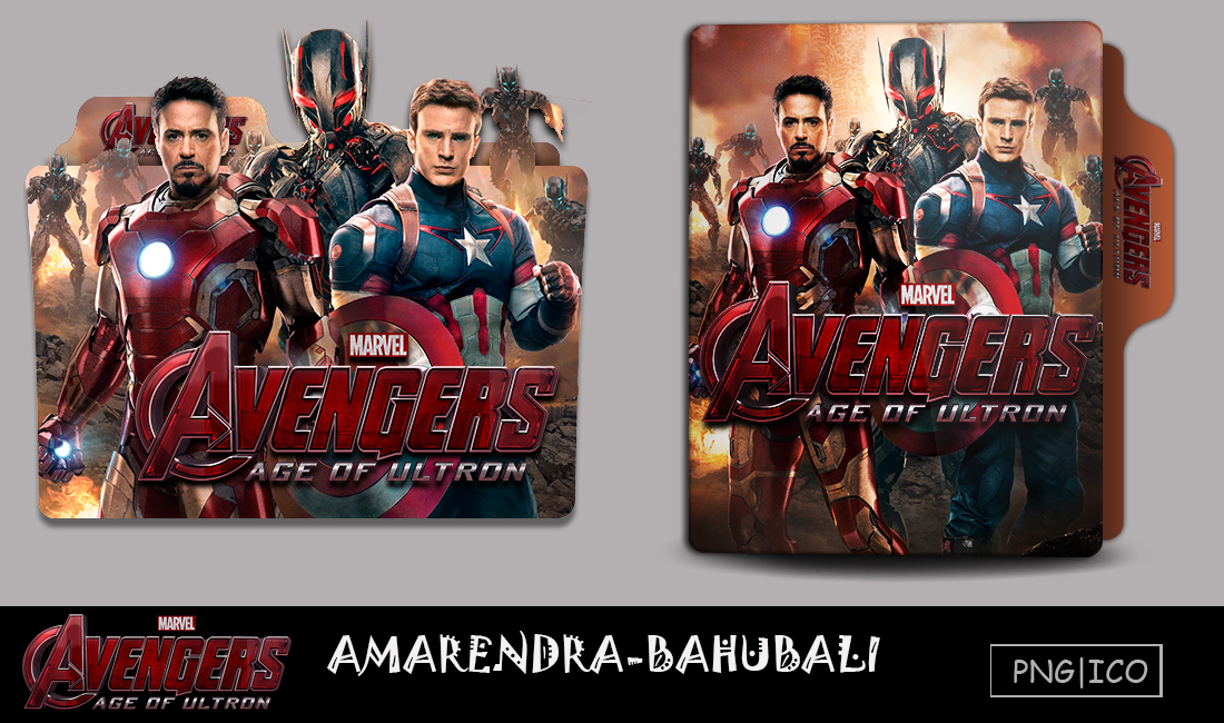 Avengers Age Of Ultron 2015 Folder Icon By G0d 0f Thund3r On Deviantart