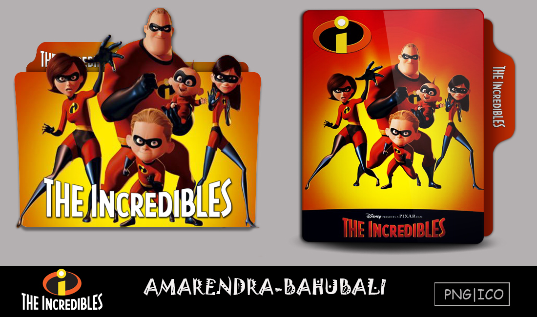 The Incredibles 2004 Folder Icon By G0d 0f Thund3r On Deviantart
