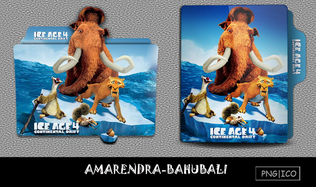Ice age 4 Continental Drift Folder icon by AMARENDRA ...