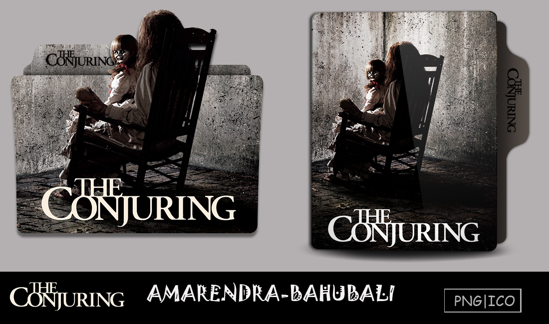 The Conjuring 2013 Folder Icon By G0d 0f Thund3r On Deviantart