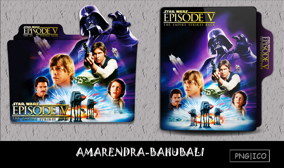 Starwars Ep5 The Empire Strikes Back 1980 Folder By G0d 0f Thund3r On Deviantart