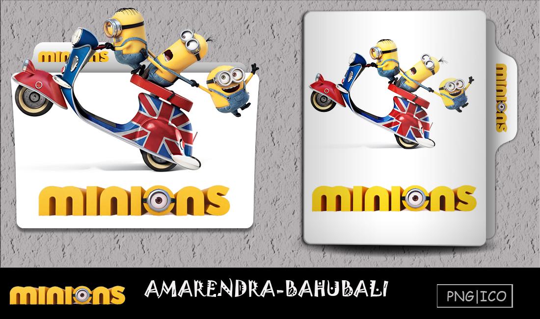 Minions 2015 Folder Icon By G0d 0f Thund3r On Deviantart