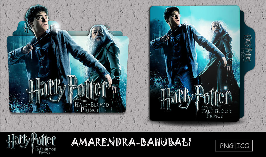 Harry Potter The Halfblood Prince 2009 Folder Icon By G0d 0f Thund3r On Deviantart