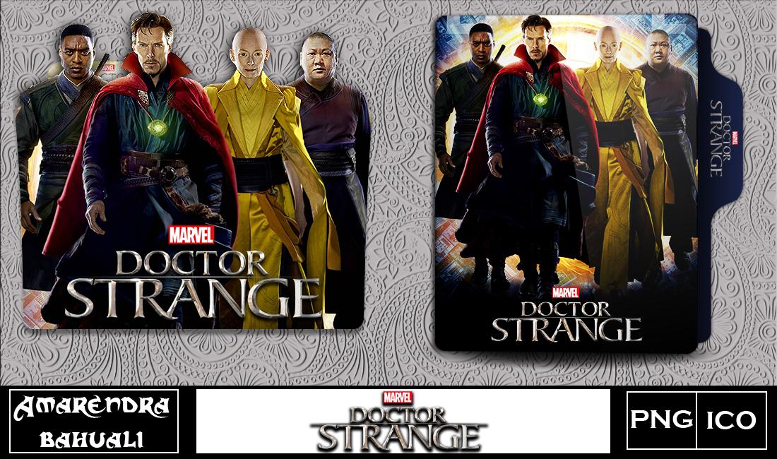 Doctor Strange 2016 Folder Icon By G0d 0f Thund3r On Deviantart