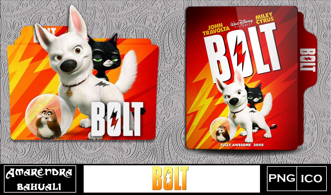 Bolt 2008 Folder Icon By G0d 0f Thund3r On Deviantart