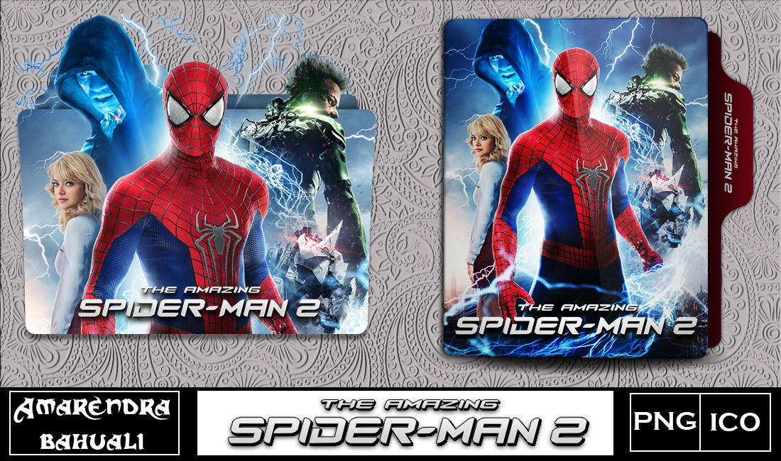 The Amazing Spiderman 2 2014 Folder Icon 2 By G0d 0f Thund3r On Deviantart