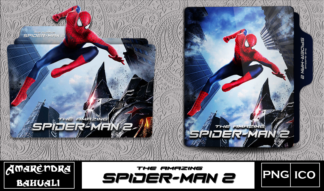 The Amazing Spiderman 2 2014 Folder Icon 1 By G0d 0f Thund3r On Deviantart