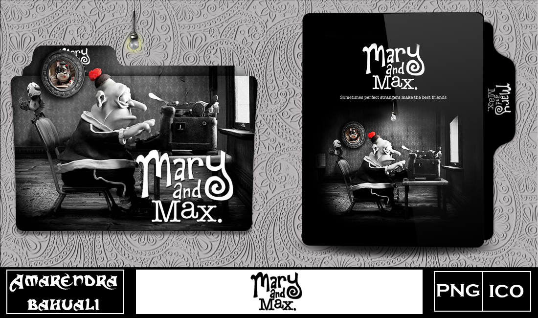Mary And Max 2009 Folder Icon By G0d 0f Thund3r On Deviantart
