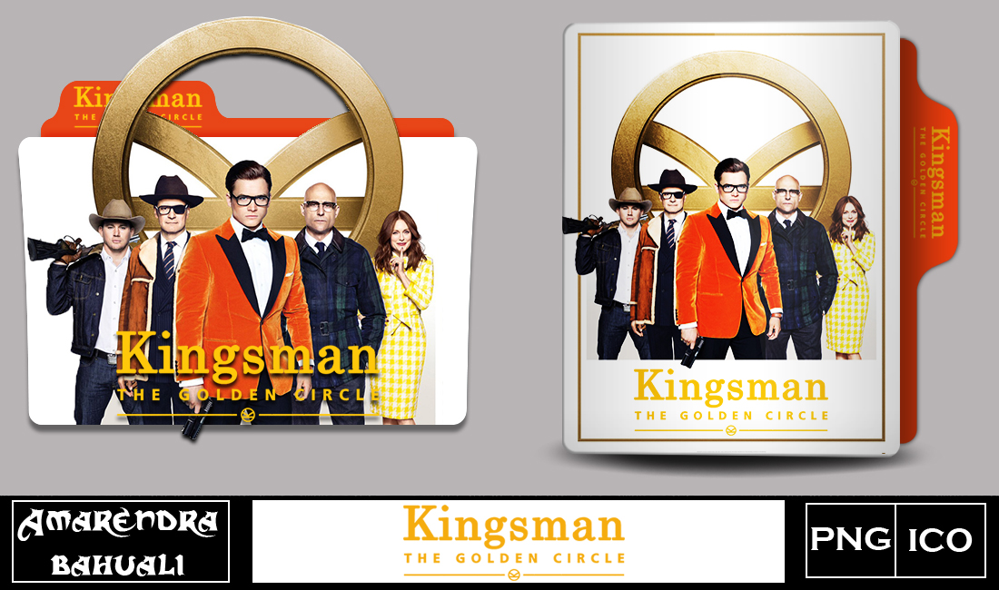 Kingsman Golden Circle 2017 Folder Icon By G0d 0f Thund3r On Deviantart